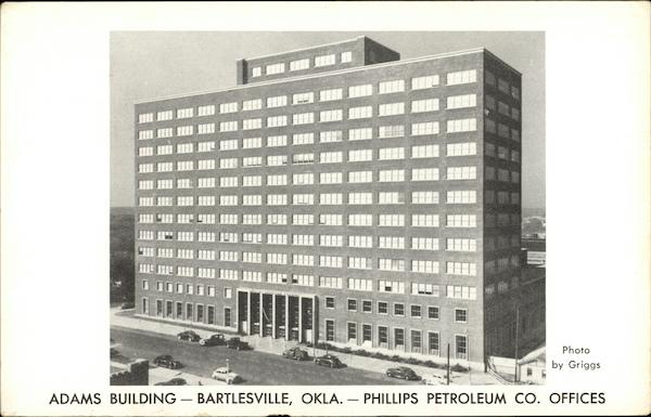 Adams Building - Phillips Petroleum Co. Offices Bartlesville Oklahoma