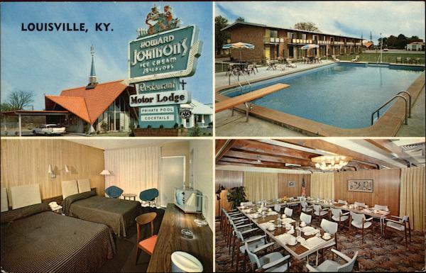 Howard Johnson 39 S Motor Lodge And Restaurant Louisville Ky