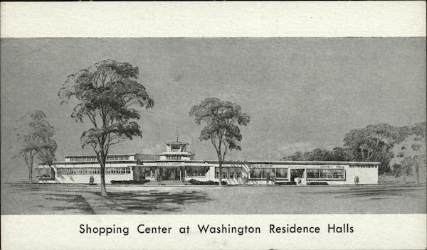 Shopping Center at Washington Residence Halls District of Columbia