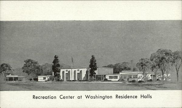 Recreation Center at Washington Residence Halls District of Columbia
