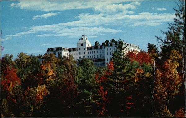 Franconia College From Main Street, Open in 1963 New Hampshire