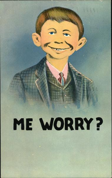 Me Worry? Comic, Funny