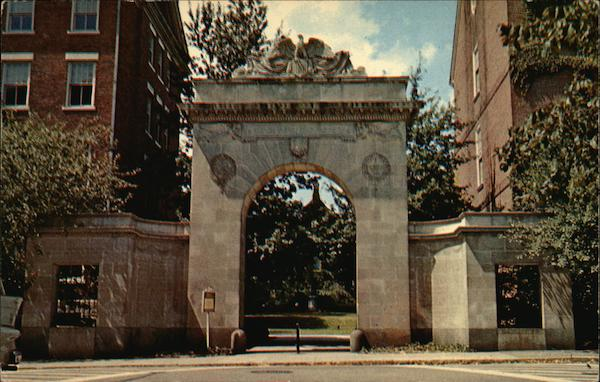 Brown University - Soldiers Gate Providence Rhode Island