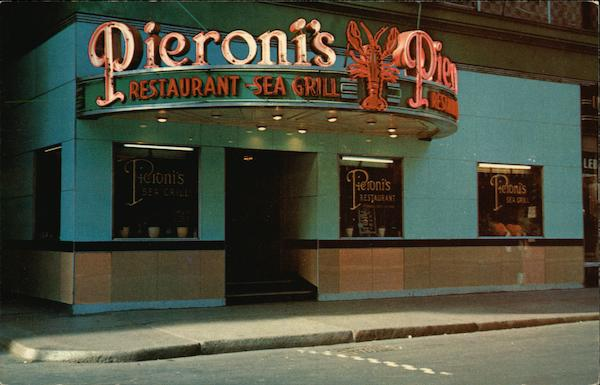 Pieroni's Sea Grills & Restaurant Boston Massachusetts