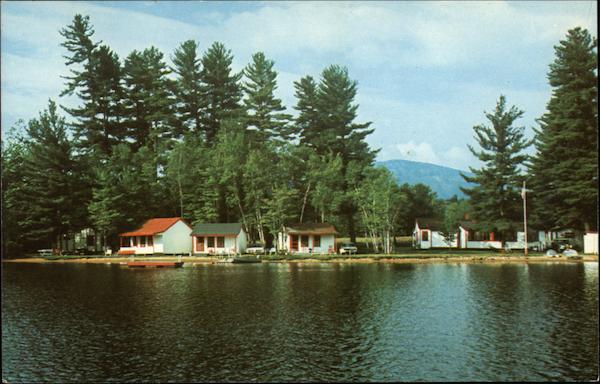 Greenwood Cabins on North Pond Locke Mills Maine