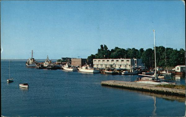 Little Harbor at Woods Hole Cape Cod Massachusetts