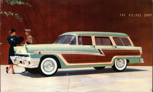 1956 Mercury Monterey Station Wagon Cars