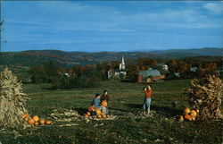 Countryside in Peacham, Vermont