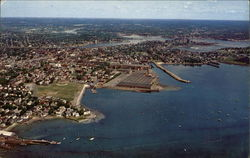 Derby Wharf and Salem Harbor