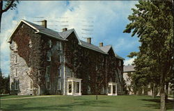 Middlebury College - Starr Hall Postcard