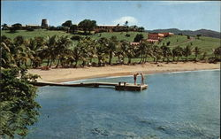 The Buccaneer Hotel and Private Beach, Christiansted Postcard