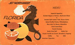 Northwest Airlines - Florida Menu