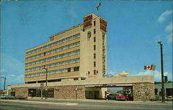 The Biltmore Motor Hotel Postcard