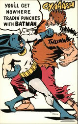 Batman Batgram - You'll Get Nowhere Tradin' Punches With Batman