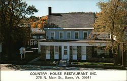 Country House Restaurant & Oxbow Lounge