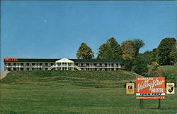 Barnard Valley View Motel Postcard