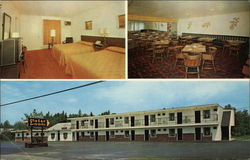 Pamola Motor Lodge Postcard