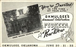 You're Invited to the Time of Your Life! Okmulgee's Annual Celebration Pioneer Pow Wow