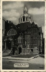 Trinity M. E. Church Postcard