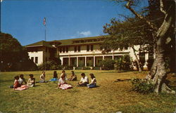 Maunaolu College, 1861 Administration Building 1950