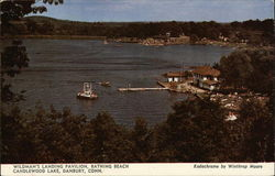 Wildman's Landing Pavilion, Bathing Beach, Candlewood Lake