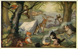 Kittens' Camp by Molly Brett