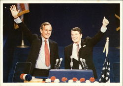 Ronald Reagan and George H. W. Bush