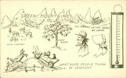 What some people think of Vermont