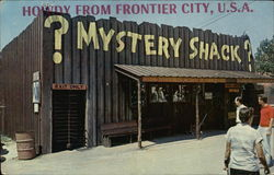 Frontier City - Mystery Shack Postcard