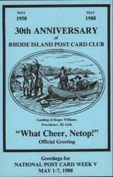 30th Anniversary of Rhode Island Post Card Club