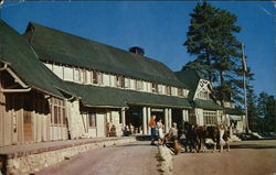 Bryce Canyon Lodge, Bryce Canyon National Park, Utah Postcard
