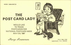 The Post Card Lady - Marge Rosencrans