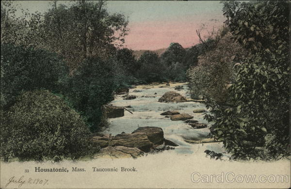 Tauconnic Brook Housatonic Massachusetts