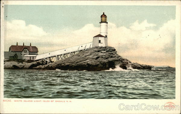 White Island Light Isles of Shoals New Hampshire