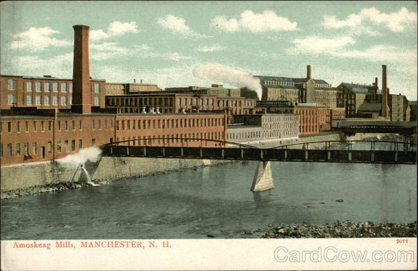 Amoskeag Mills Manchester New Hampshire