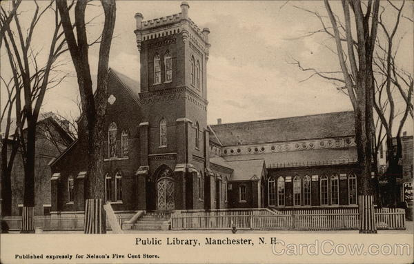 Public Library Manchester New Hampshire