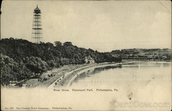River Drive, Fairmount Park Philadelphia Pennsylvania