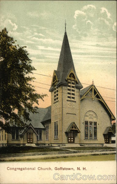 Congregational Church Goffstown New Hampshire