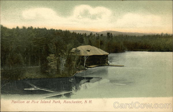 Pavilion at Pine Island Park Manchester New Hampshire