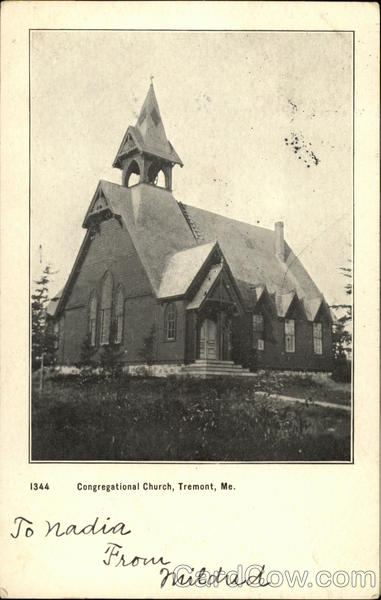Congregational Church Tremont Maine