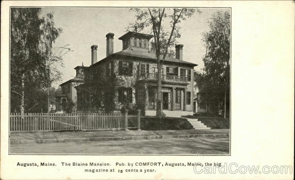 The Blaine Mansion Augusta Maine