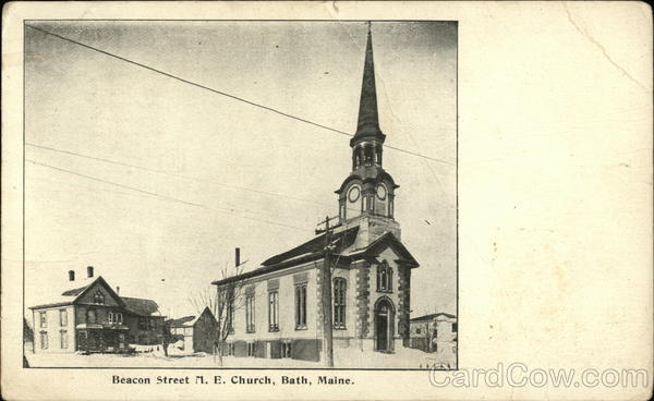 Beacon Street M.E. Church Bath Maine