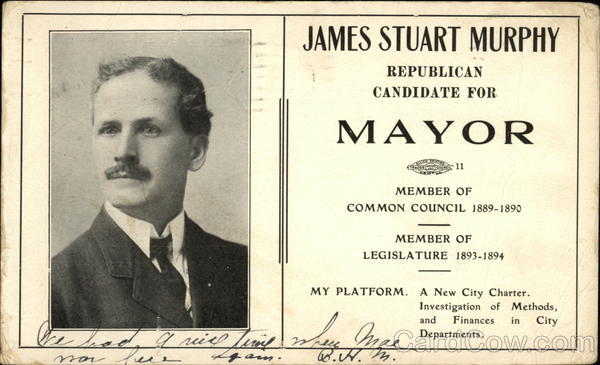 James Stuart Murphy, Republican Candidate for Mayor