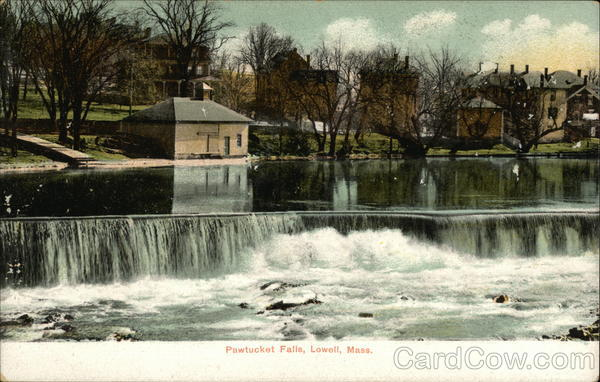 Pawtucket Falls Lowell Massachusetts