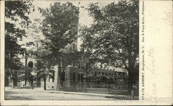 State Armory Binghamton New York