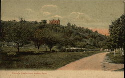 Kimball's Castle from Belnap Point Postcard