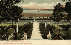 Lake Winnipesaukee from Weirs Hotel Postcard