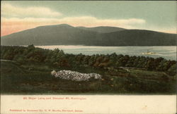 Mt. Major Lake and Steamer Mt. Washington