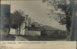 Cotton Mills at Colebrook River, Conn