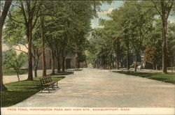 Frog Pond, Washington Park and High Street